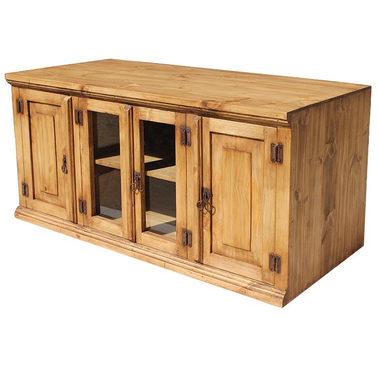 Rustic Pine Collection Santa Maria TV Stand 300
