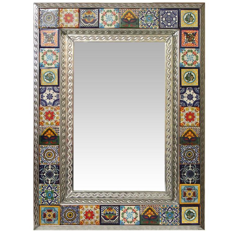 Talavera Wall Art Collection - Talavera Eclipse Mirror ... |Talavera Mirror