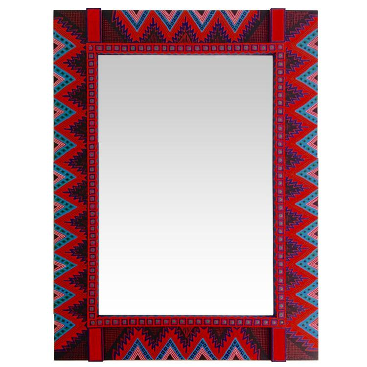 Square Apache Mirror Product Photo