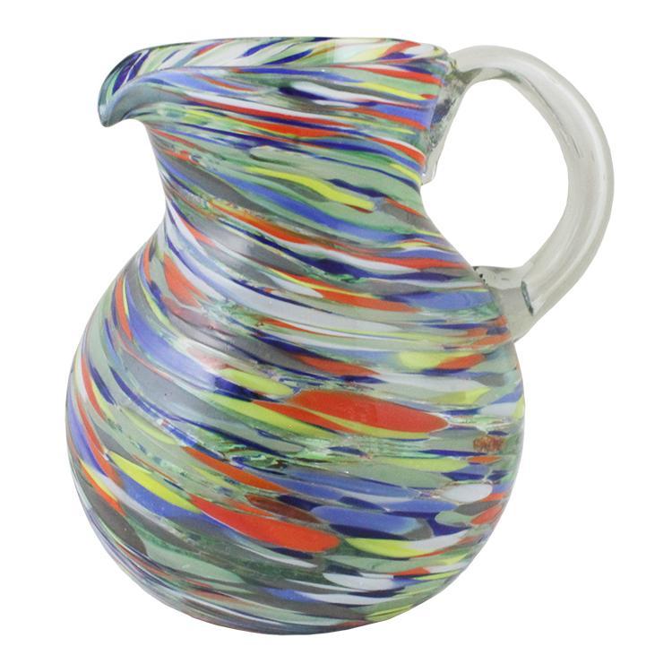160 Ounce Service Pitcher - Confetti Swirl