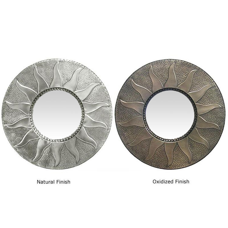 Sun Tin Mirror Natural Product Photo
