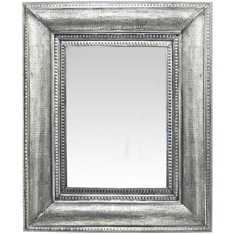 Azteca Tin Mirror - Natural Finish