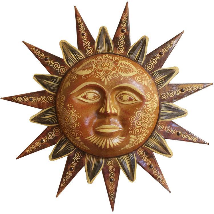 Large Decorated Sun