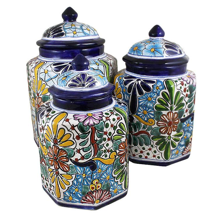 talavera kitchen canisters collection talavera kitchen kitchen canisters archives brent smith pottery brent smith