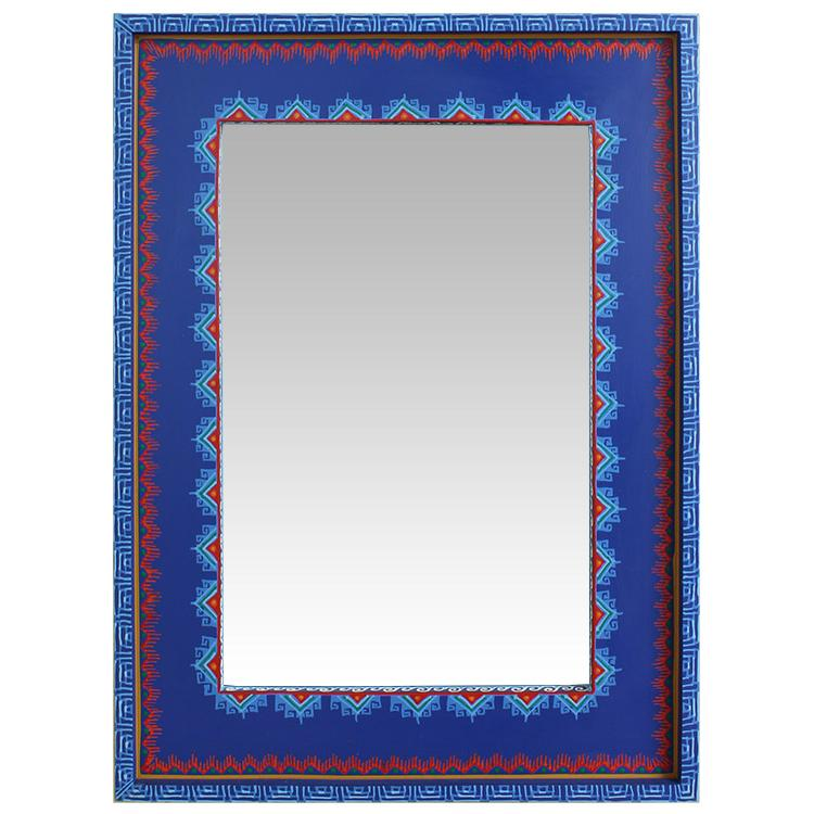Square Tulum Mirror Product Photo
