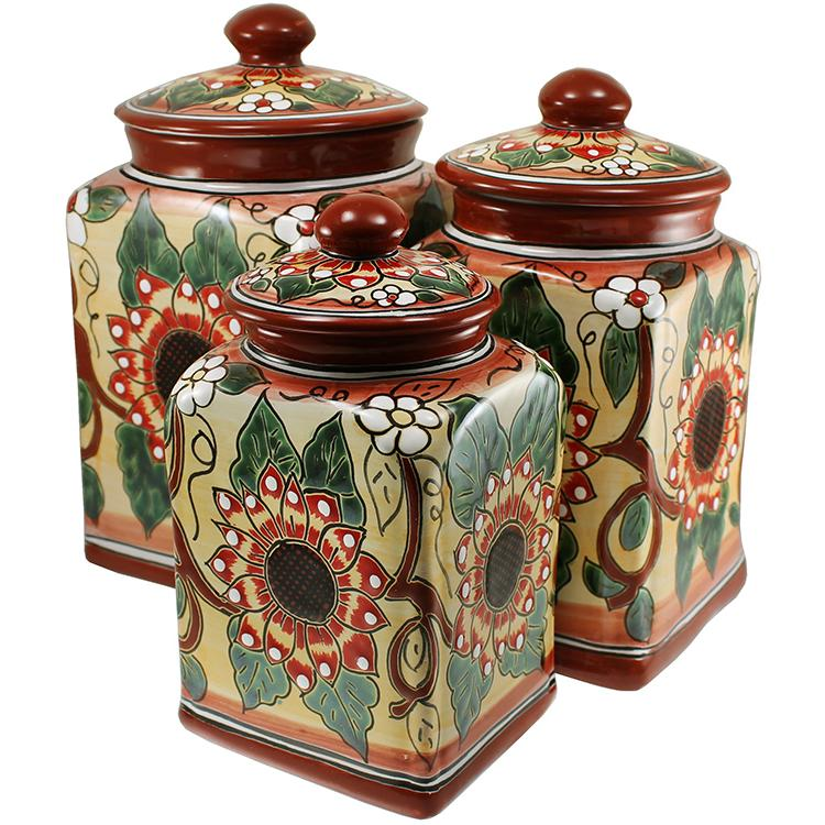 Talavera Kitchen Canisters Collection Canister Tgj270