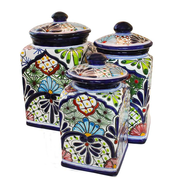 Talavera Kitchen Canister Sets Mexican Set