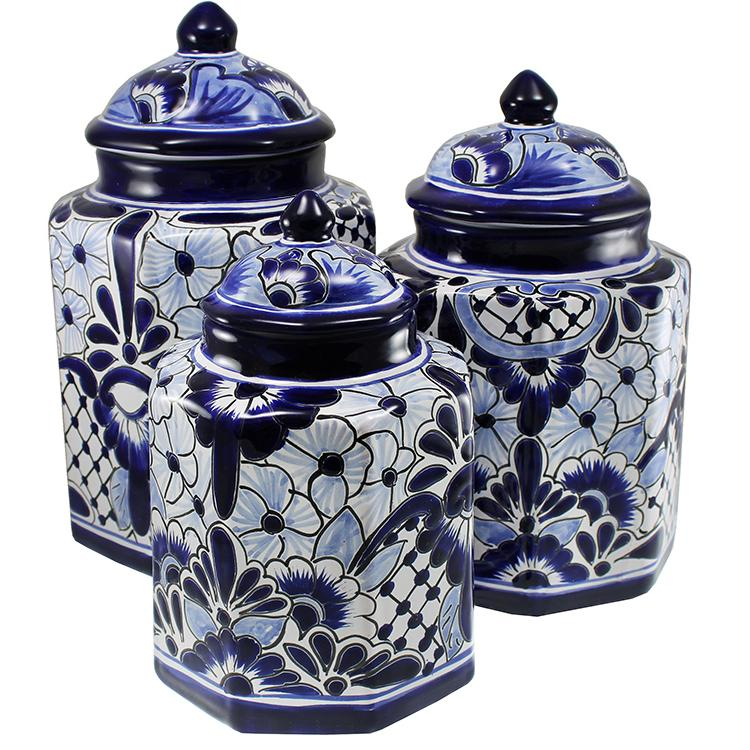 Talavera Kitchen Canisters Collection Canister Tgj265