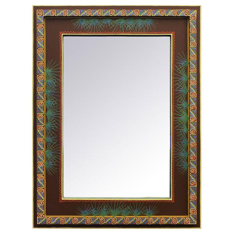 Square Cactus Mirror Product Photo