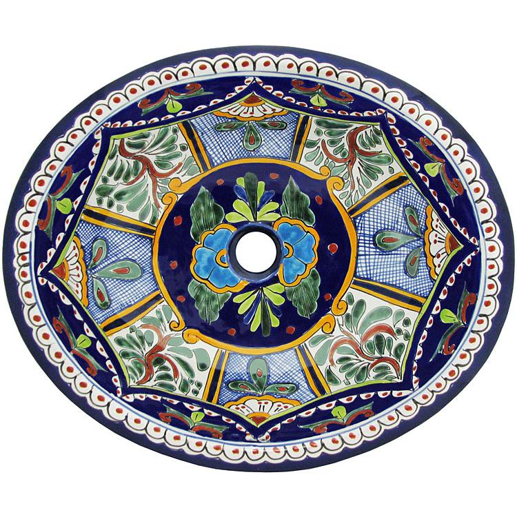Small Talavera Sink