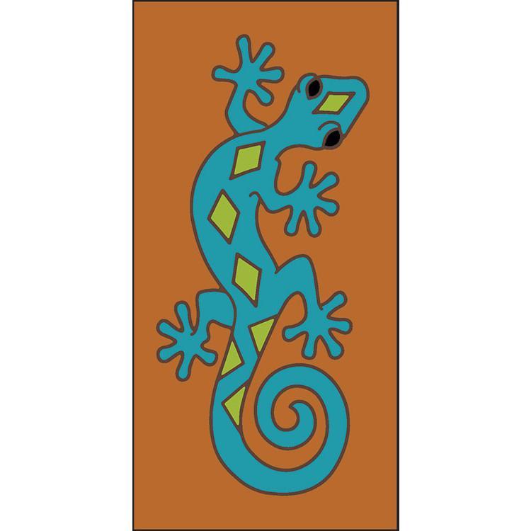 Border Tile:Crawling Gecko