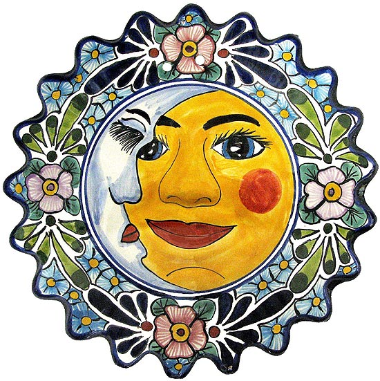 Large Talavera Eclipse