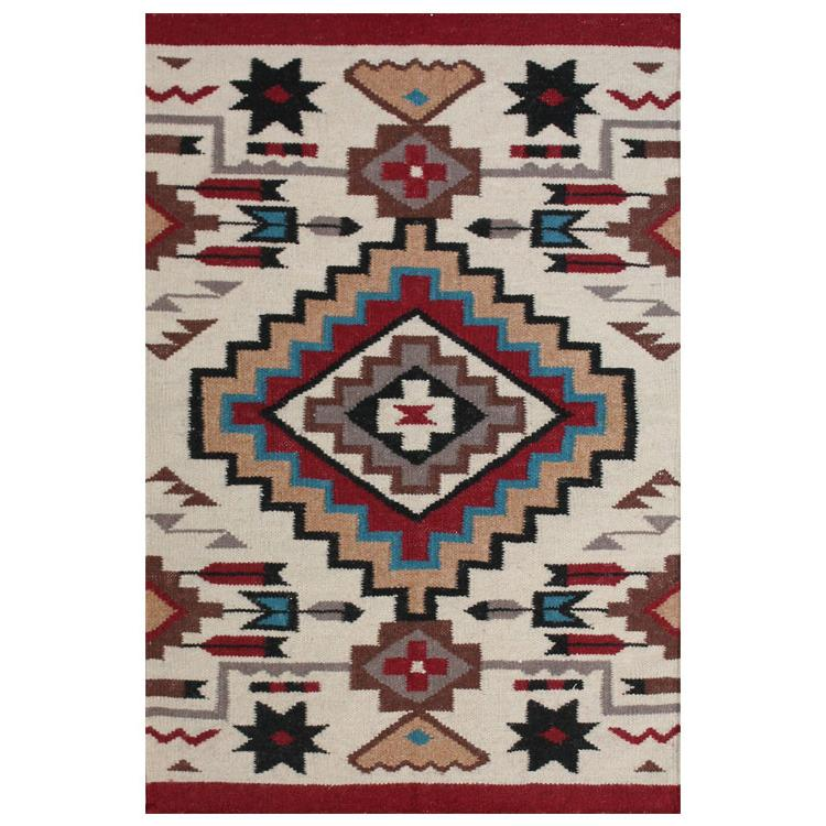 2ft x 3ft Southwest Wool Rug