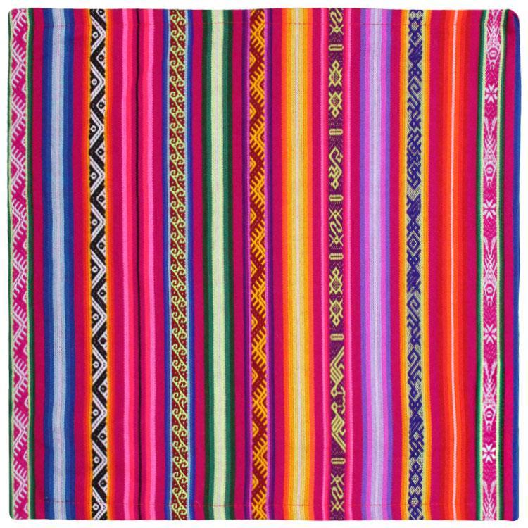 18in x 18in Peruvian Throw Pillow