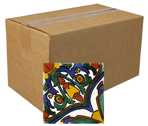Carnaval Hand Painted Tiles Product Photo