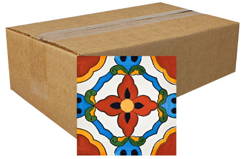 Mexicano Hand Painted Tiles Product Photo