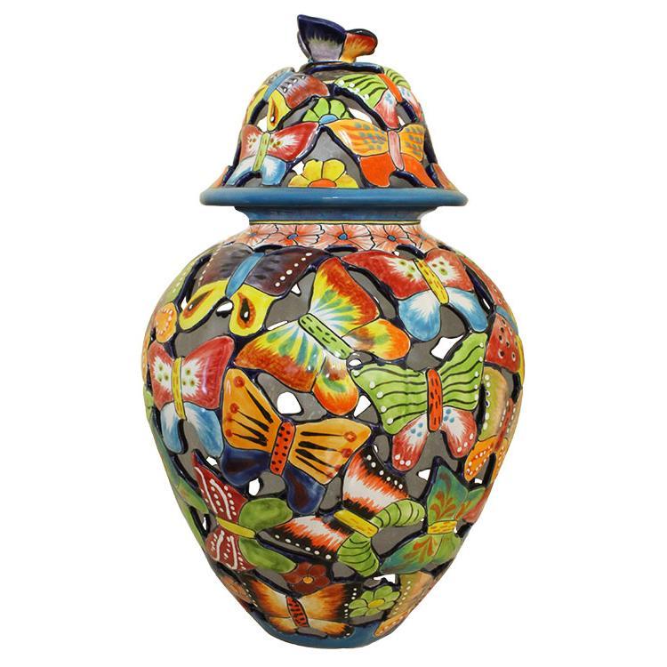 Jar Butterflies Product Photo