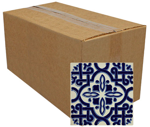 Marruecos Mini Talavera Tile - Pack of 25