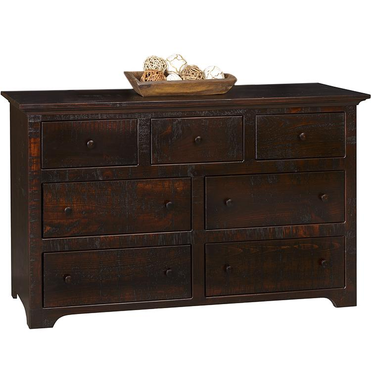 53 Colonial Dresser - Cream & Tobacco