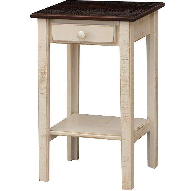Colonial End Table - Tobacco