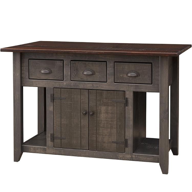 Colonial Kitchen Island Top Tobacco Product Photo