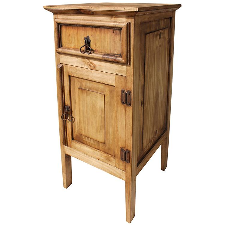 Mexican Rustic Pine Liso Cabinet Stand