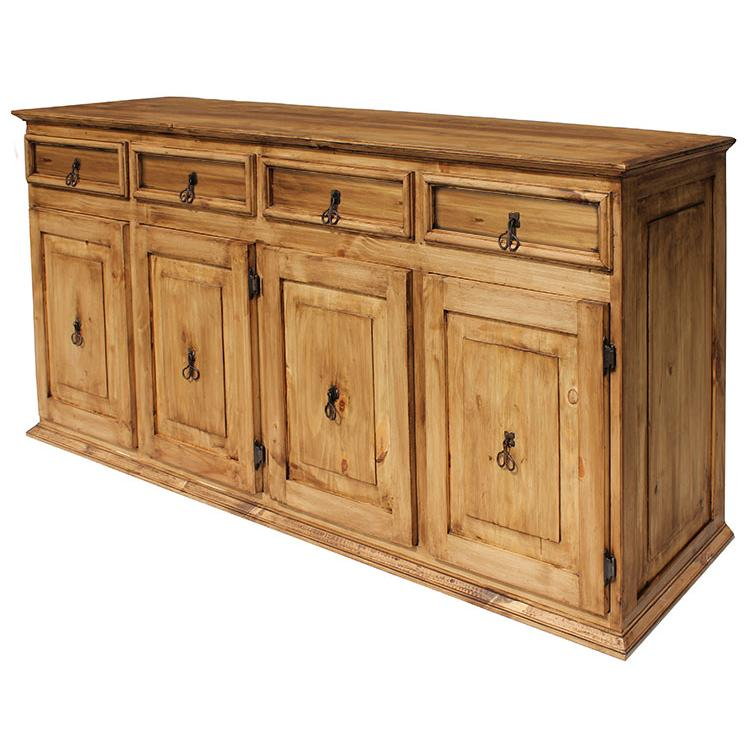 Rustic Pine Extra Large Classic Sideboard Product Photo
