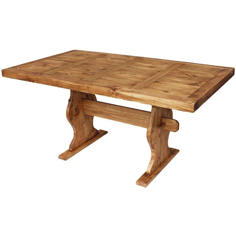 Pine Trestle Dining Table Product Photo