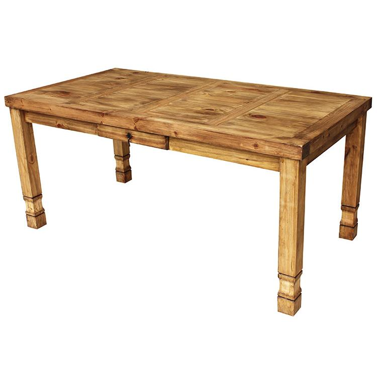 Mexican Rustic Pine Medium Julio Dining Table