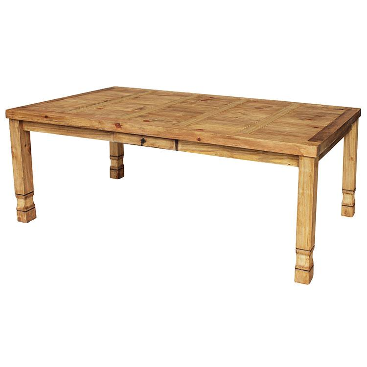 Rustic Pine Large Dining Table Product Photo