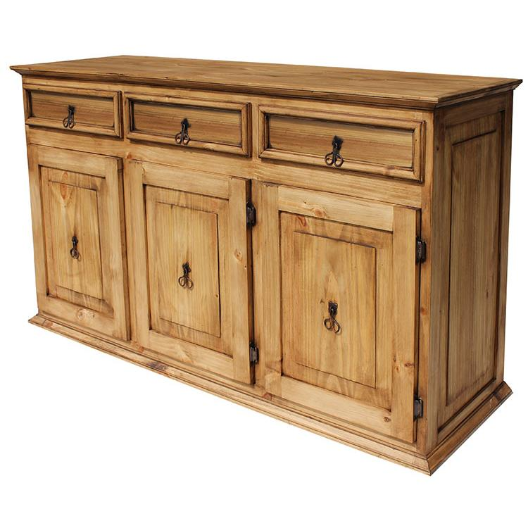 Rustic Pine Large Classic Sideboard Product Photo