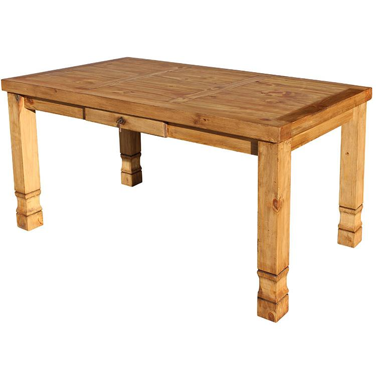 Rustic Pine Small Dining Table Product Photo
