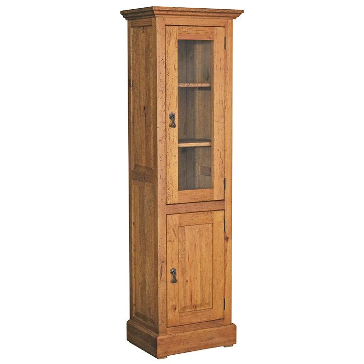 Southwestern Rustic Patricio Cabinet with Light Brown Finish