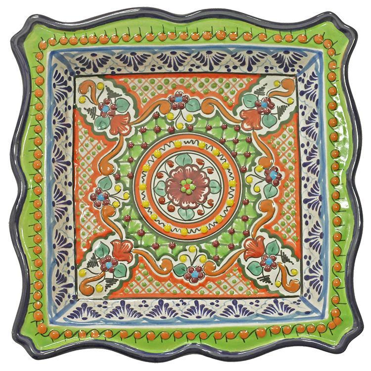 Square Waved Platter