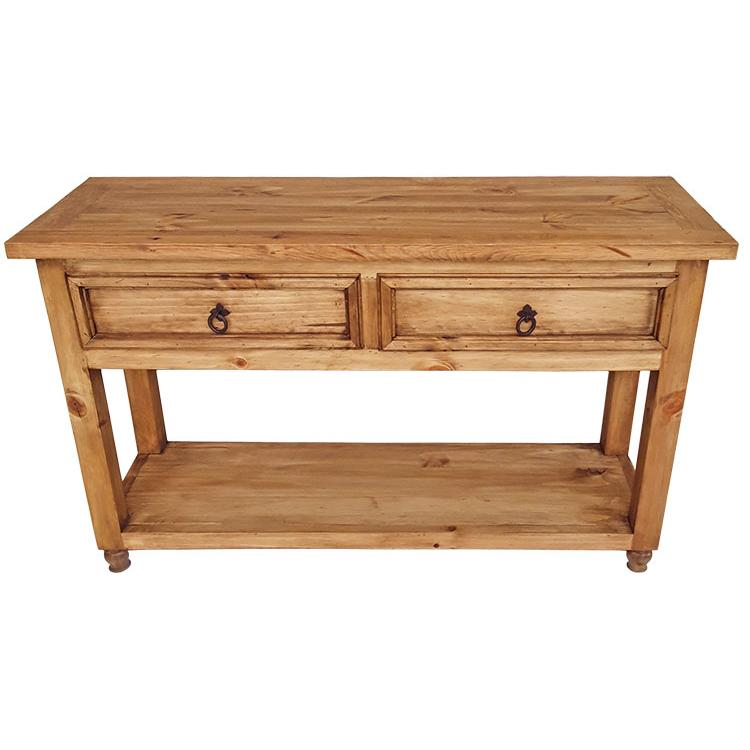 Pine Console Table Product Photo