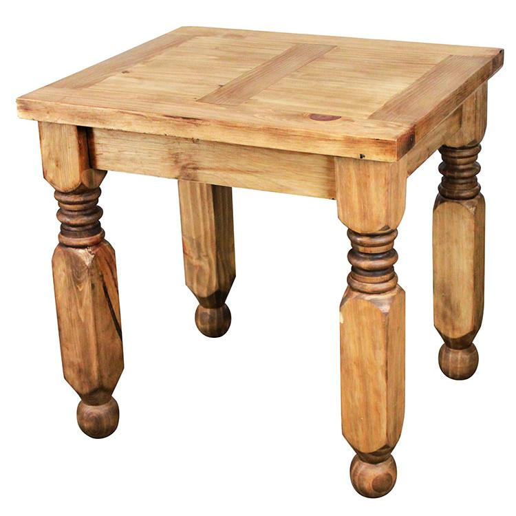 Rustic Pine End Table Product Photo