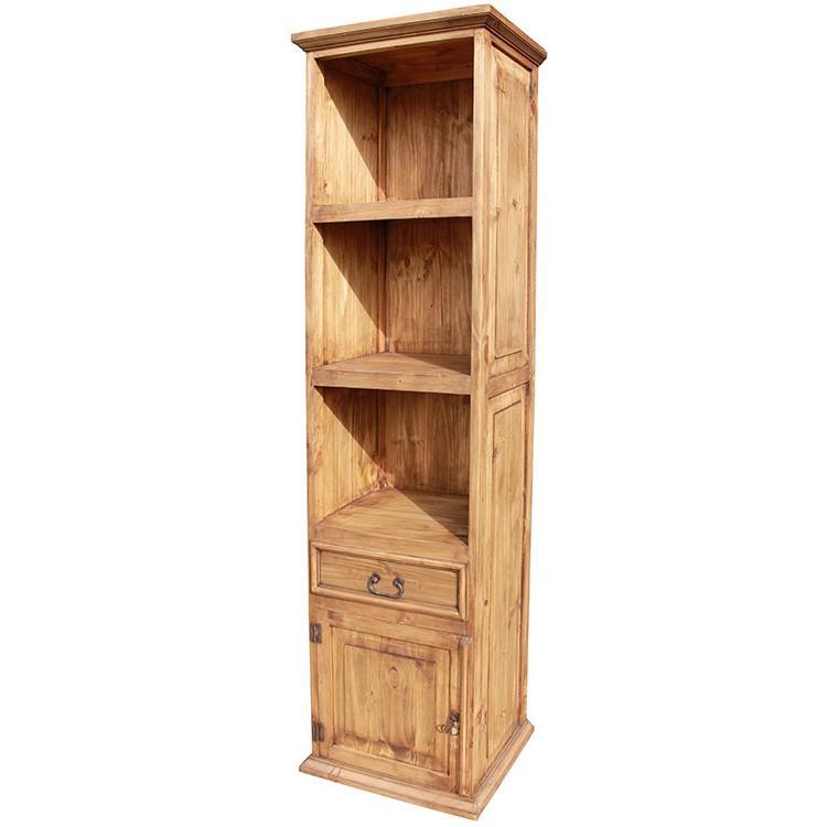 Rustic Pine Door Bookcase Product Photo