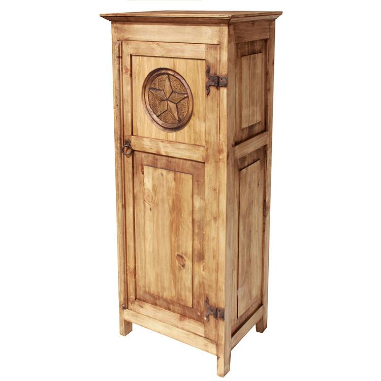 Rustic Pine Cabinet Product Photo