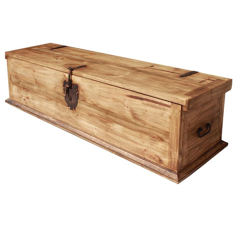 Rustic Pine King Trunk Product Photo