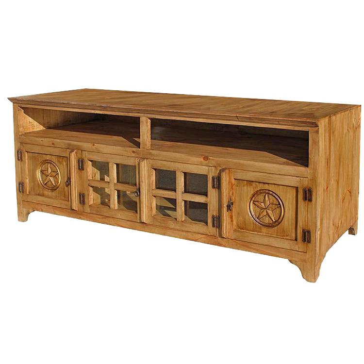 Rustic Pine Tv Stand Product Photo