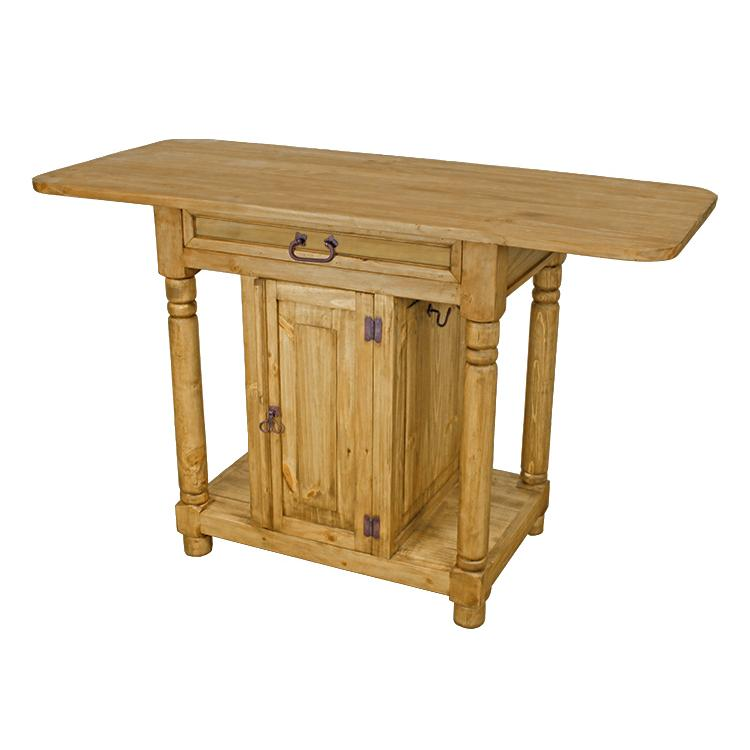 Rustic Pine Large Kitchen Island Product Photo