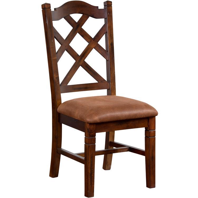 Rustic Santa Fe Crossback Dining Chair