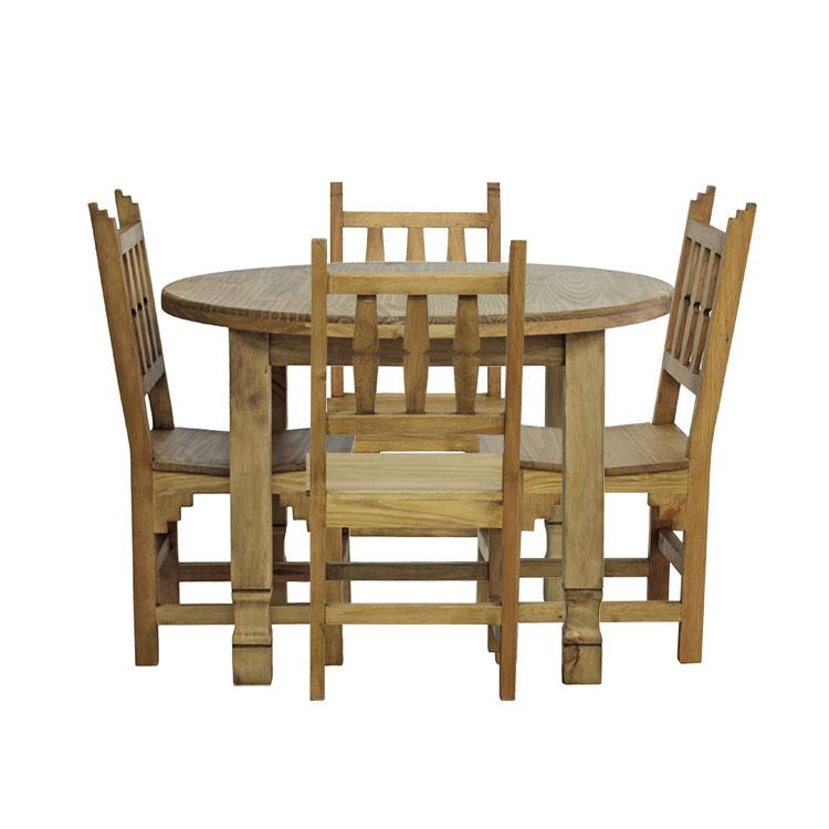 Round Dining Table Four Chairs Product Photo
