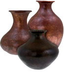 Artisan Copper Vases