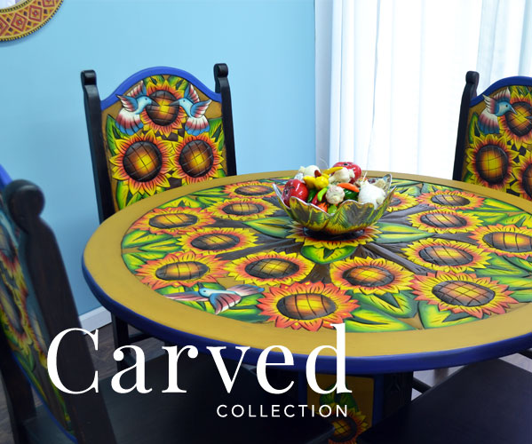 Carved Collection - Dining Tables and Chairs