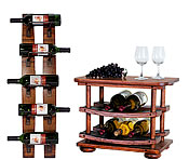 Wine Racks and Servers