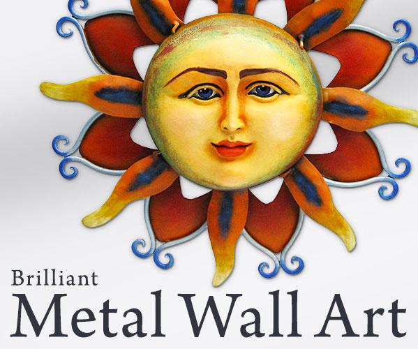 Metal Wall Art - Animal, People, and Nature Metal Wall Art