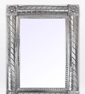 66e59f86 Mexican Mirrors - Tin Mirrors, Tin & Tile Mirrors