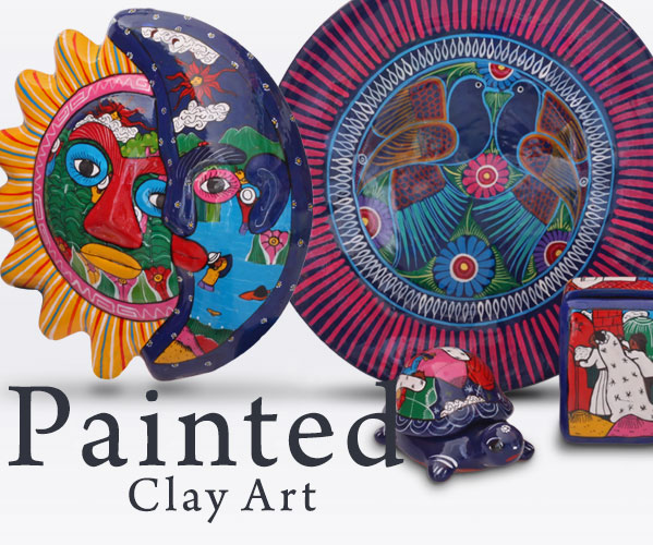 Painted Clay Art
