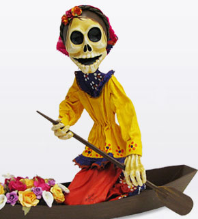 Paper Mache Day of the Dead
